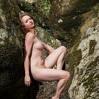 San Francisco Fine Art Nude Photography Paul Pardue 20141123_131311_018515 California, Castle Rock, Flash, Outdoors, Rocks, State Park, Strobe, Strobist, Trees