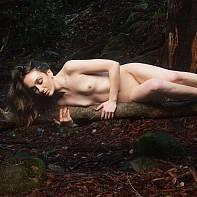 San Francisco Fine Art Nude Photography Paul Pardue 20141214_141452_019197 Brunette, Dirt, Flash, Los Gatos, Outdoor, Rocks, Santa Cruz Mountains, Softbox, Strobe, Strobist, Synchro Sun, Trees