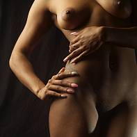 San Francisco Fine Art Nude Photography Paul Pardue 20150526_192641_020309 Flash, Low Key, Softbox, Strobe, Studio